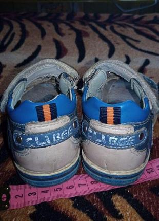 Кожаные сандали 16 см