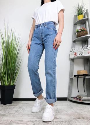 Винтажные джинсы высокая посадка плотные винтаж levis 501 made in usa