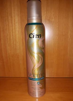 Пенка для волос cien, пена, пінка для волосся, для парикмахеров 250 мл германия