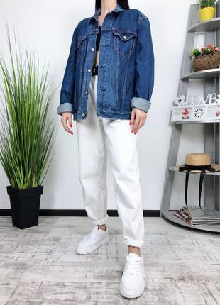 Джинсовка оверсайз винтаж levis в винтажном стиле джинсовая куртка пиджак3 фото