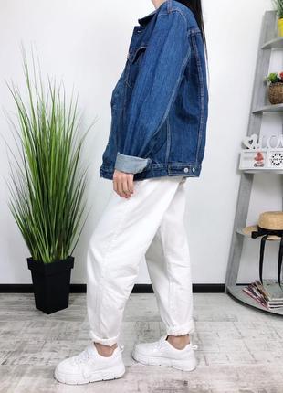 Джинсовка оверсайз винтаж levis в винтажном стиле джинсовая куртка пиджак2 фото