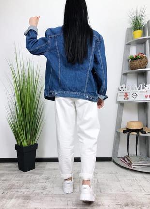 Джинсовка оверсайз винтаж levis в винтажном стиле джинсовая куртка пиджак5 фото