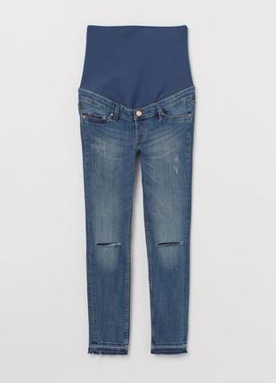 Джинсы скинни для беременных джинси skinny mama h&m