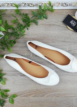 🌿40🌿европа🇪🇺 h&m. стильные комфортные туфли, балетки