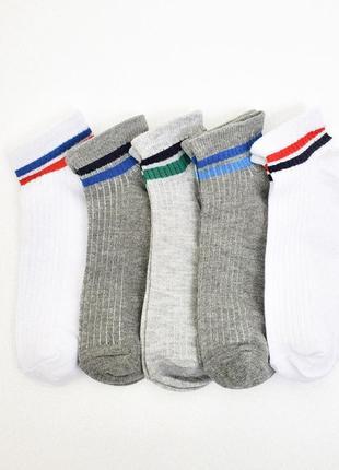 27-30, 34-36 5 пар короткие носки на лето c&a