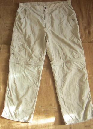 Штаны / шорты мужские брюки треккинговые salewa 2в1 (3xl) - оригинал.
