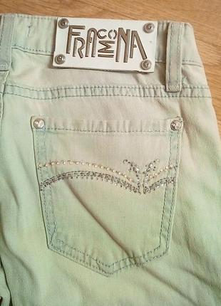 Летние светлые женские джинсы fracomina
