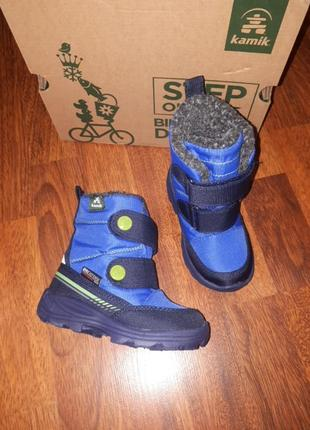 Зимние ботинки kamik 25
