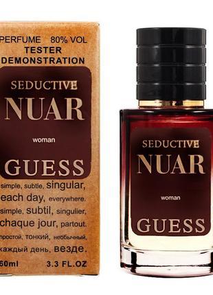 Новинка! арабский тестер люкс 60 мл guess seductive noir