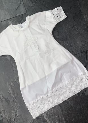 Крестильное платье mimino baby 0-3