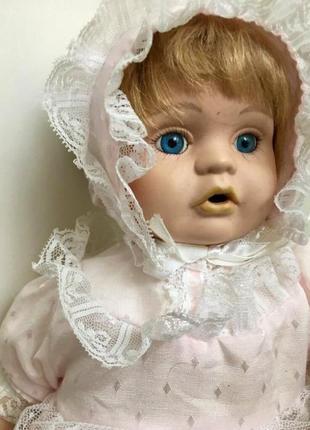 Фарфор кукла promenade collection. швейцария. девочка eugenie. 33 см.