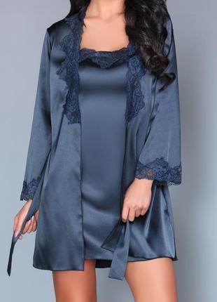 Комплект халат и пеньюар livia corsetti (польша) раз.s-3xl