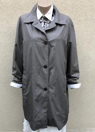 Легкий,тонкий плащ на подкладке,куртка ,ветровка,тренч большого размера gil bret