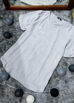 Блуза топ кофточка с удлиненной спинкой f&f