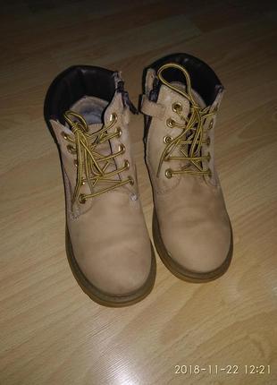 Ботинки lumberjack (ботіночки timberland) оригінал б/у