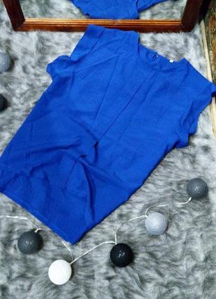 Блуза топ кофточка с акцентными плечиками