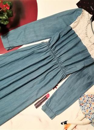 Платье италия, 100% хлопок, размер m/l