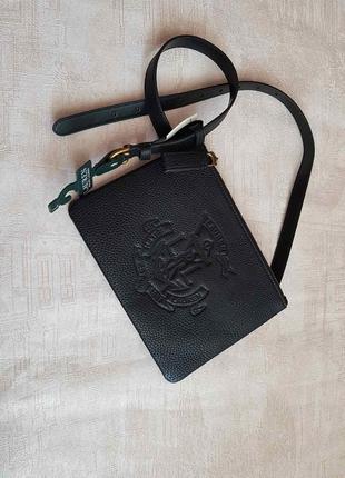 Оригинальная  сумочка на пояс ralph lauren