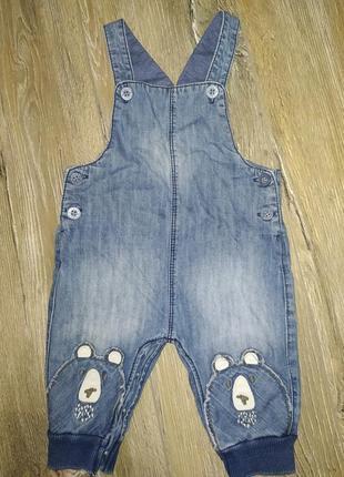 Комбинезон комбез джинсовый