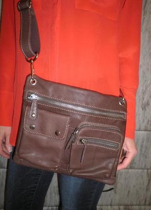 Модная качественная мягкая кожа сумка кроссбоди от fossil оригинал качество