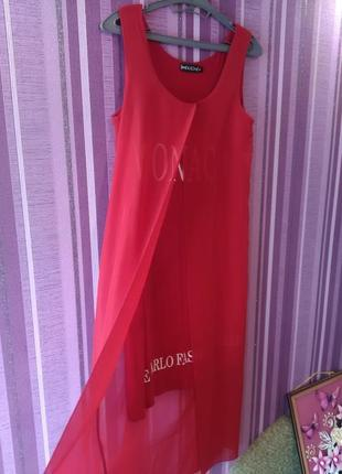 Красивое летнее платье, сарафан