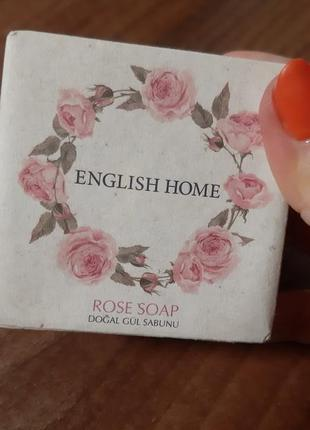 В лоте соль для ванн ваниль-папайя и мыло роза3 фото