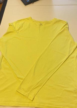 Пайта котоновая желтая нм на мальчика размер 14 или 170см
