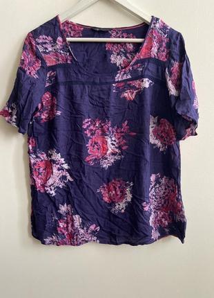 Футболка -блуза marks&spencer p.14/42 #1102 1+1=3🎁