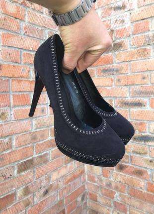 Женские туфли на шпильке sds размер 39 (25 см.)