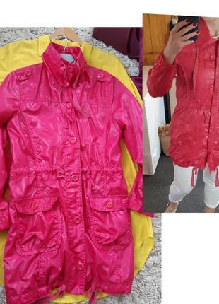Актуальная  яркая удлиненная легкая куртка/ветровка , persival jackets,p. 8-10