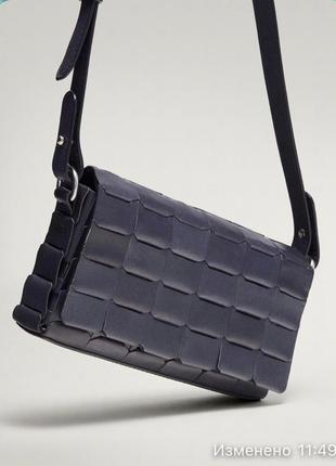 Кожаная сумка/натуральная кожа от massimo dutti 🌈
