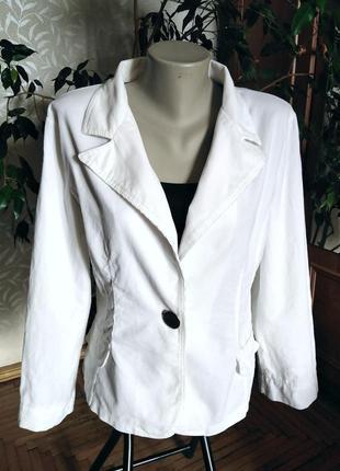 Стильный летний хлопковый пиджак, голландия, размер-l