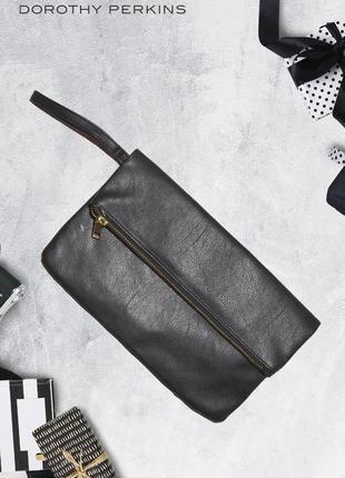 Черный клатч (бесплатно к любой покупке) dorothy perkins