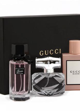 Подарочный набор gucci 3 x 30ml