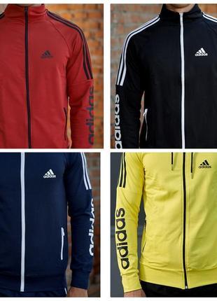 Количество ограничено!отличные мужские спортивные костюмы adidas.трикотаж.шикарные