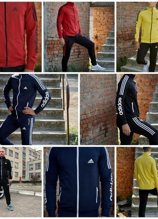 Огонь!!! мужские спортивные костюмы adidas.трикотаж.высшее качество.цвета7 фото