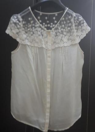 Шикарная блуза фирмы naf-naf