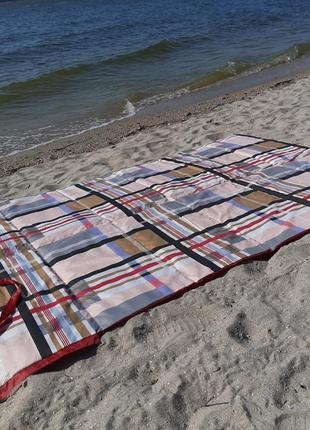 Пляжная подстилка-сумка-коврик