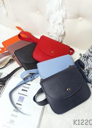 Стильная квадратная сумочка клатч поясная