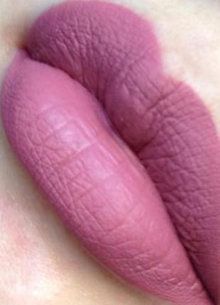 Sephora cream lip stain 06 pink souffle – нежное розовое суфле   жидкая губная помада5 фото
