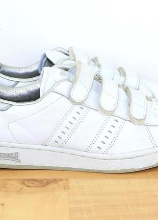Кожаные кроссовки lonsdale