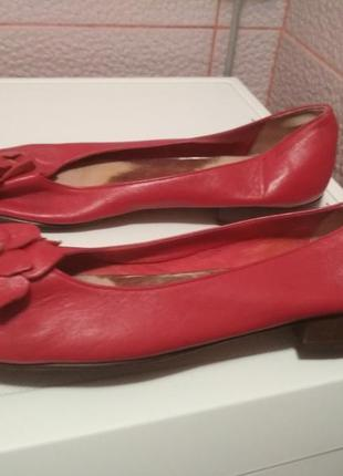 Брендовые туфли john levis натуральная кожа летние италия