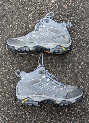Трекинговые кроссовки ботинки merrell gore-tex оригинал