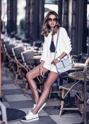 Белый пиджак весна-лето