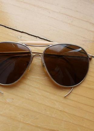 Высшего качества солнцезащитные очки люкс бренд оптика american optical aviator не ray ban