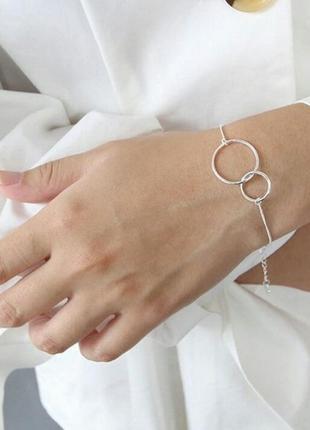 Красивый и нежный браслетик, серебро. розпродаж