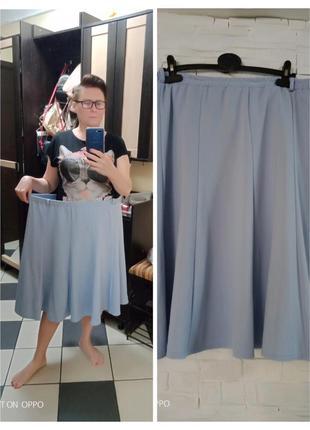 Женская юбка-годе,миди, очень большой размер