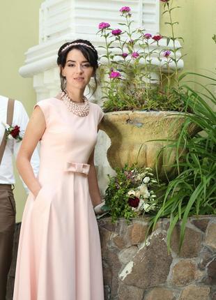 Элегантное свадебное платье торг