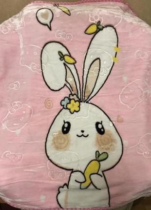 Детское тёплое двойное одеяло детский плед