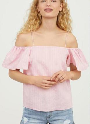 Топ блуза h&m